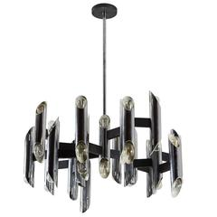 Twelve-Arm Chandelier by Sciolari