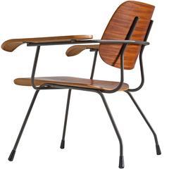 Tjerk Reijenga for Pilastro Rare Easy Chair 'Model 8000', The Netherlands, 1960s