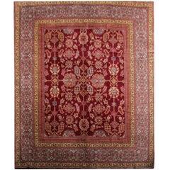Handmade Carpet Rare Antique Rugs, English Ax minster Art Deco Rug,Rug for Sale