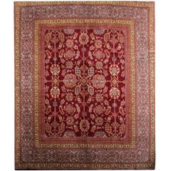 Antique Rugs, English Axminster Art Deco Rug, large rug for sale