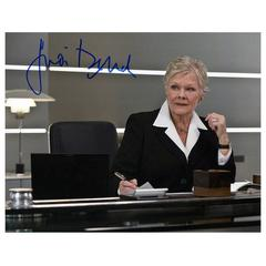 """Judi Dench Original Autograph"" Photo"