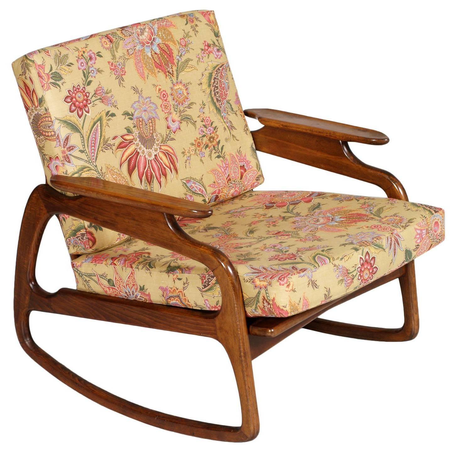 rocking walnut solid copy wrapped natural masaya wood barley mid and abuelo century black rosita leather co chair products rocker of
