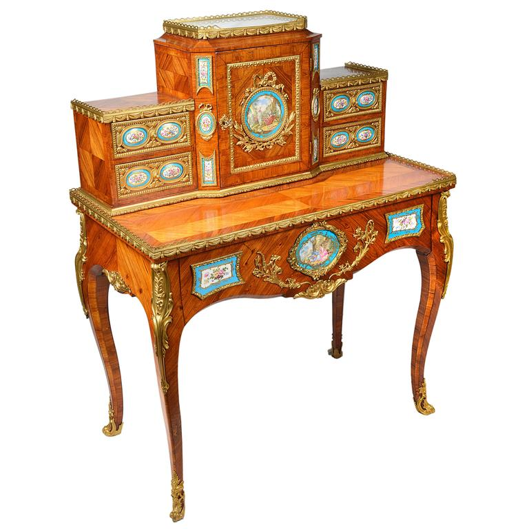 Antique French Ladies Writing Desk For Sale - Antique French Ladies Writing Desk At 1stdibs