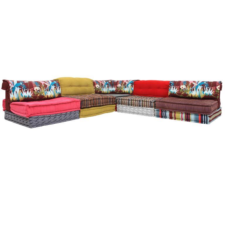 mah jong roche bobois modular sectional corner sofa at 1stdibs. Black Bedroom Furniture Sets. Home Design Ideas