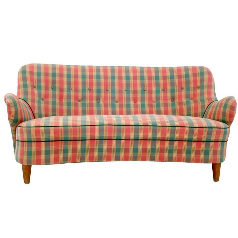 Unique Sofa, Italy, 1950s