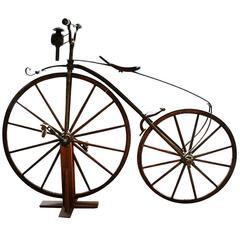 Velocipede Antique Bicycle French, 1867