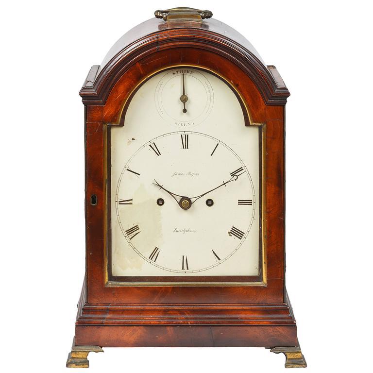 James Rogers, London, Bracket Clock