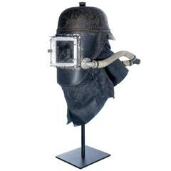 1878 Siebe Gorman Firemens Rescue Mask