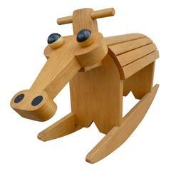 Stylized Rocking Horse
