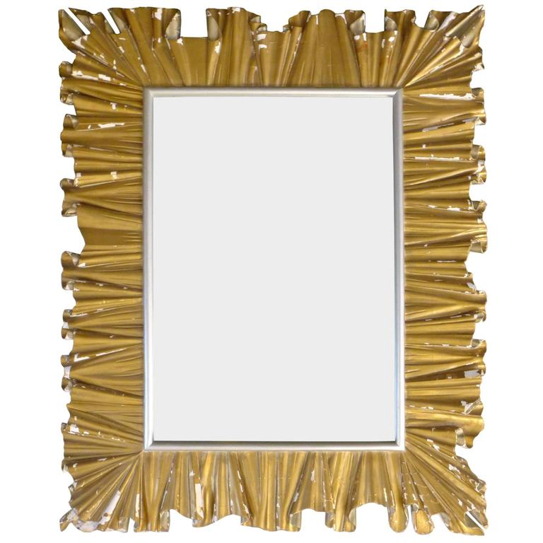 Monumental Hand-Carved Italian Mirror 1