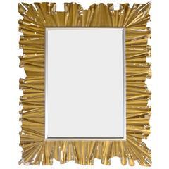 Monumental Hand-Carved Italian Mirror