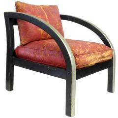 Arm Chair, Modernage Furniture, circa 1928-32, in the style of Paul Frankl