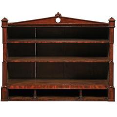 19th Century Regency Style Hanging Shelf