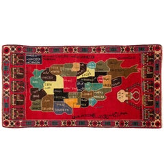 Folk Art Central Asian Rugs