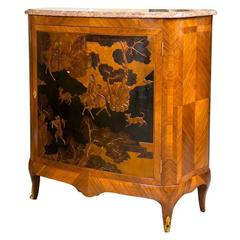 French Louis XV Style Kingwood Commode