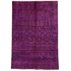 Pink Moroccan Area Rug