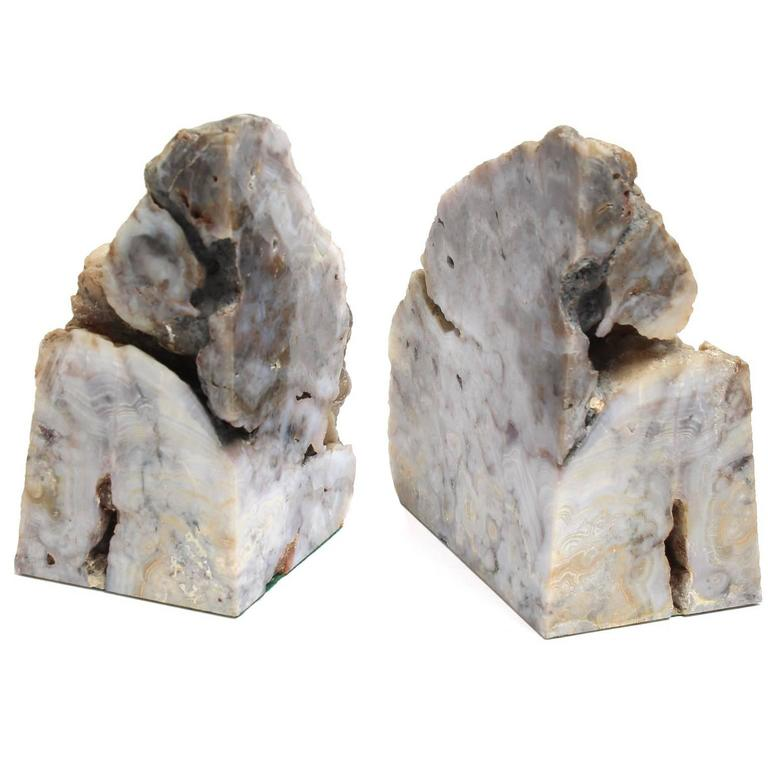 Pair of geode bookends for sale at 1stdibs - Geode bookends ...