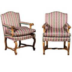 Pair of Italian Bergère Chairs