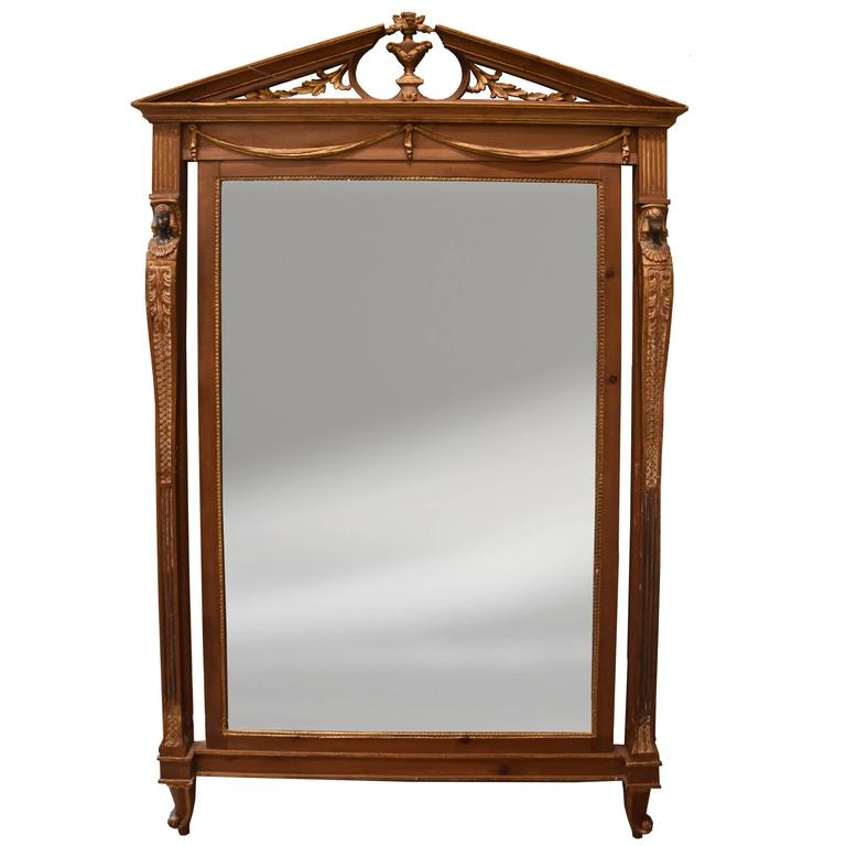 Early 20th Century Neoclassical Style Mirror