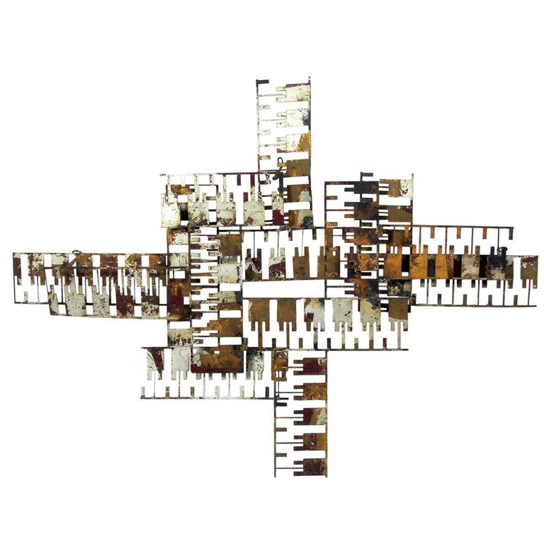 Modern Wall Sculpture by William Bowie