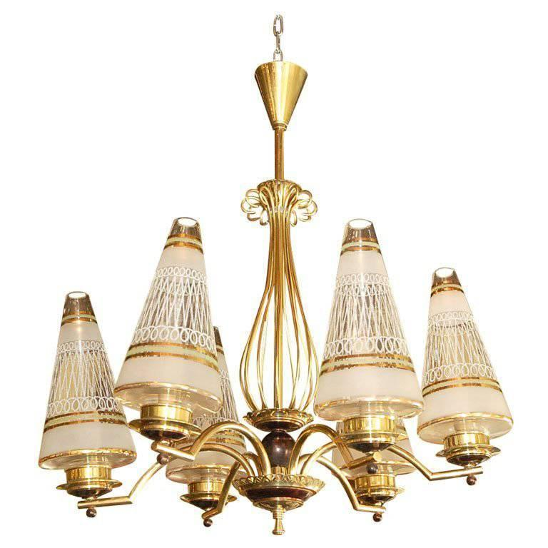 French 1940s Chandelier