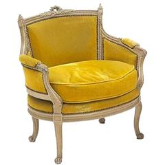 19th Century Louis XVI Painted Marquise from France