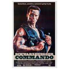 """Commando"" Film Poster, 1985"