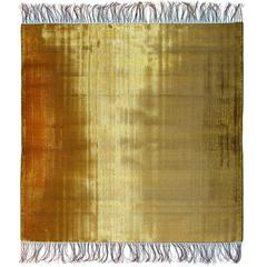 Spectrum 10 hand-woven in brass and steel by Dougall Paulson