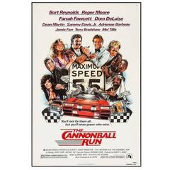 """The Cannonball Run"" Film Poster, 1981"