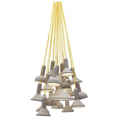 Established and Sons Torch Bunch Suspension Light Fixture by Sylvain Willenz