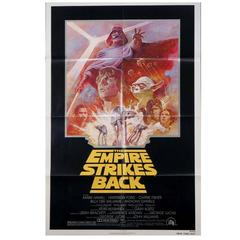 """The Empire Strikes Back"" Film Poster, 1981"