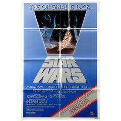 """Star Wars"" Film Poster, 1982"