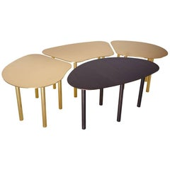 Composite Caterpillar Coffee Table, Contemporary Composition of Four Tables
