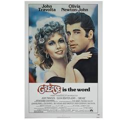 """Grease"" Film Poster, 1978"