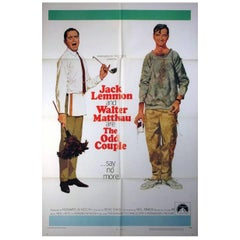 """""""The Odd Couple"""" Film Poster, 1968"""
