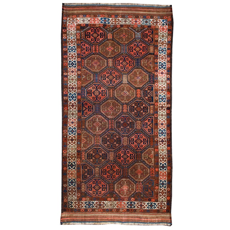 19th Century Baluch Rug from Afghanistan