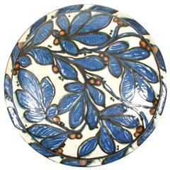 1940s Kähler Ceramic Chandelier