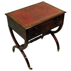 Antique Regency Mahogany Writing Table