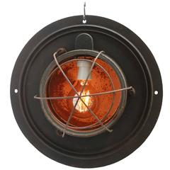 Au clair la lune, Cast Iron Industrial Hanging Light