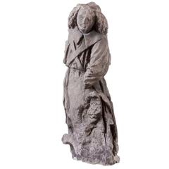 Gothic Statue, Sculpture Middle Age