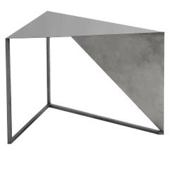 Striking XY&Z Triangular Coffee Table with a Contemporary Allure