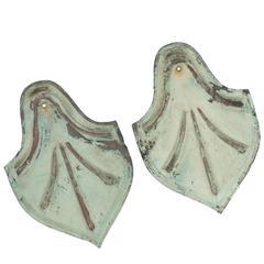 Pair of Heraldic Shields