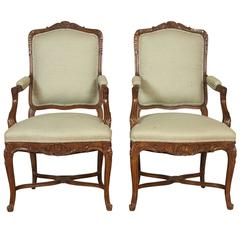Pair of Fine Quality Fauteuils