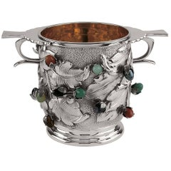 Champagne Bucket with Stones