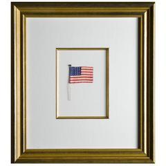 30 Star Flag, Rare Antique, circa 1848