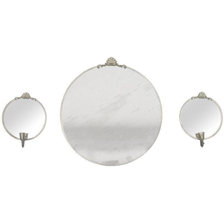 Set of Cinnabar Mirrors 1