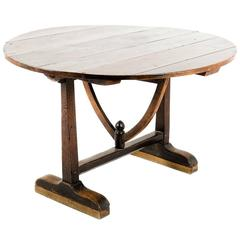 Antique Vintner's Wine Table in Solid Cherry, circa 1800