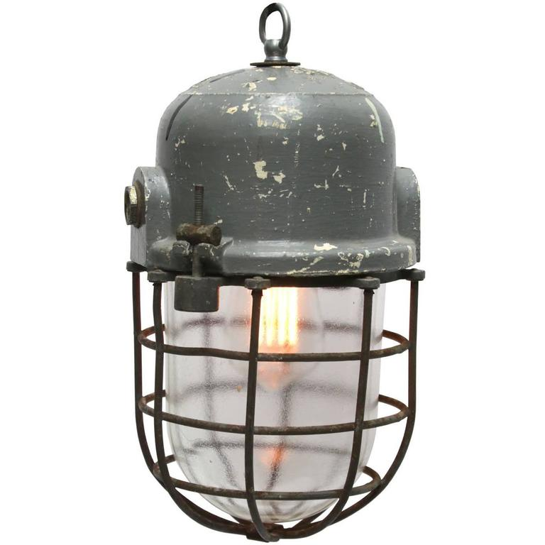 Gray vintage european industrial cage lamp podoli l iii for sale at gray vintage european industrial cage lamp podoli l iii for sale mozeypictures Image collections