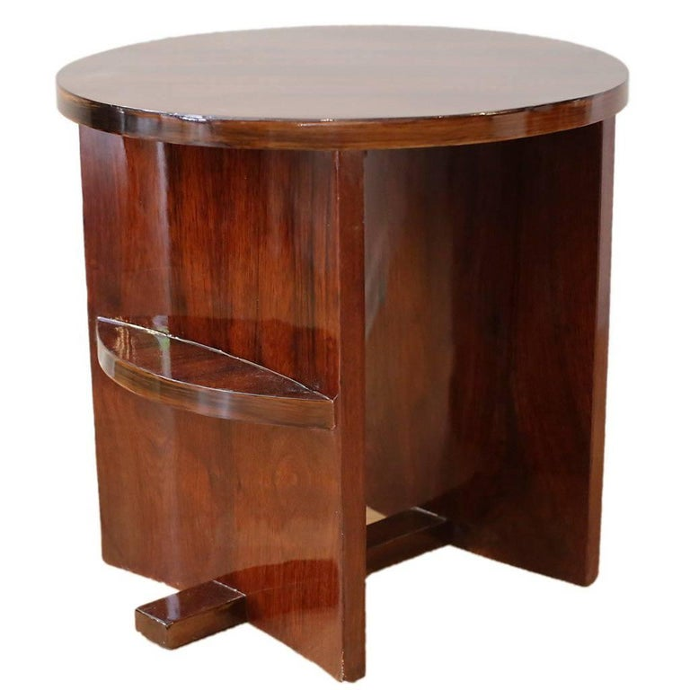 french art deco gueridon or side table for sale at 1stdibs. Black Bedroom Furniture Sets. Home Design Ideas