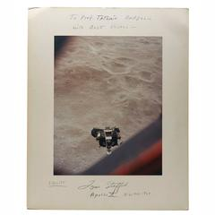 Original Apollo X Signed Photograph Tom Stafford, 1971